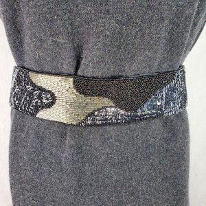 Speyer Milor Vintage Beaded Cinch Belt Medium